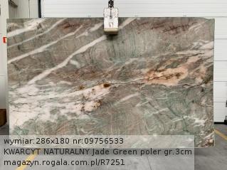 KWARCYT NATURALNY Jade Green